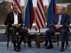Vladimir Putin tells Barack Obama they don't agree on Syria but must push for negotiations in civil war