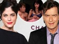 Charlie Sheen and Selma Blair 'at war over Anger Management' after he refuses to set foot on set while she's there