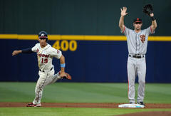 San Francisco Giants blanked by Atlanta Braves
