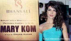 Priyanka Chopra resumes work; starts shooting for Sanjay Leela Bhansali's Mary Kom!