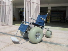 sand-ready wheelchairs help open clearwater beaches